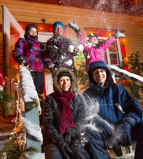 Discover the Desjardins Village in Lights - Village Québécois d'Antan de Drummondville