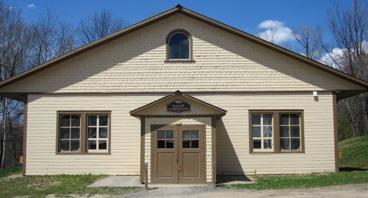 The Community Hall - Rentals and services of Village Québécois d'Antan